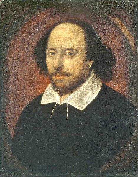 Shakespeare - by John Taylor, 1610 Public Domain