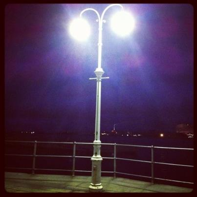 Lights at Copenhagen Harbour by Stuart McPherson, November 2012