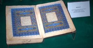 """Calligraphic version (1490) of Rumi's """"Masnavi"""""""