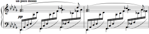 "Excerpt from Claude Debussy's ""Clair de Lune"""