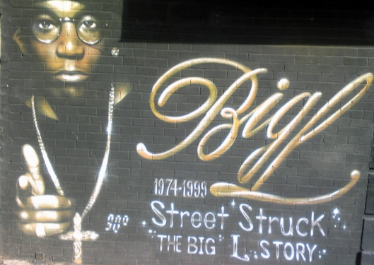 Harlem Big L mural (creative commons)