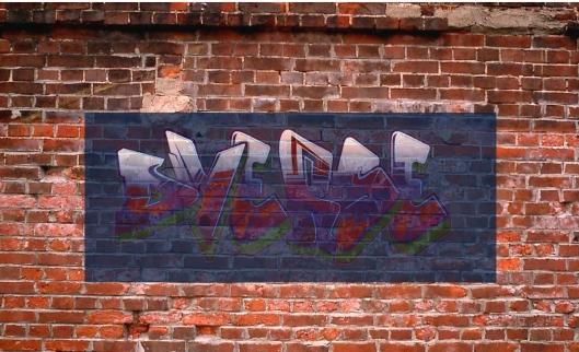 dVerse graffiti