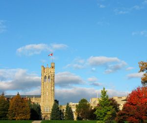 Fall at the University of Western Ontario