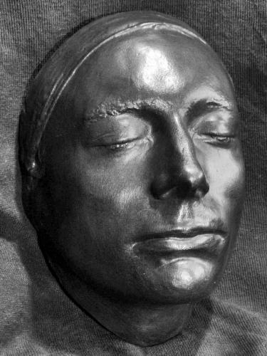 Keats Life Mask (public domain)