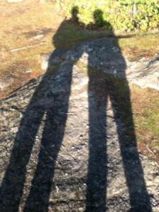 Jane and husband on a date-hike