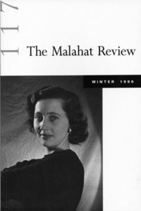 P.K. Page on 'The Malahat Review'