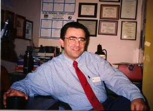 Glenn as Special Ed teacher for 26 years at the VA (Dept. of Veteran's Affairs).