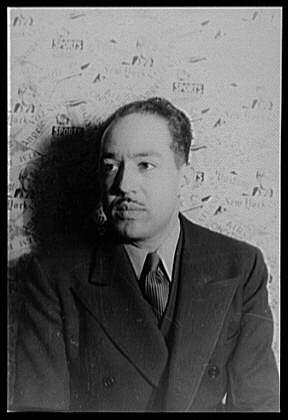 Langston Hughes by Carl Van Vechten (public domain)
