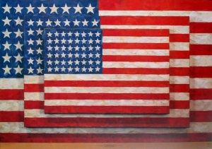 Three Flags 1958 © Jasper Johns