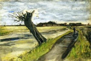 Pollard willow by Vincent van Gogh-