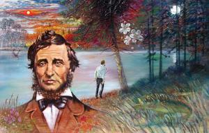 Henry David Thoreau by John Lautermilch