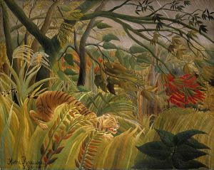 Surprised by Rousseau. From Wikipedia