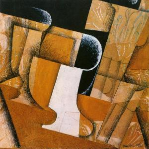 The Glass ( The Fruit Bowl) by Juan Gris
