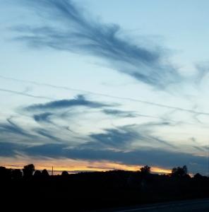 October evening 2