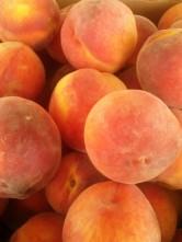 sunkissed peaches