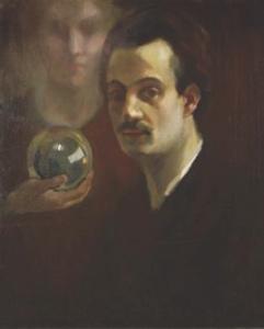Self portrait ca 1911.