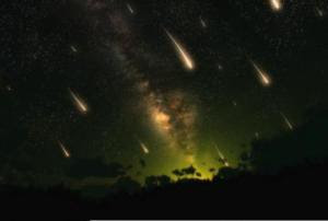 Photo: Ursid Meteor Showers, Public Domain