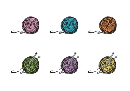 free-ball-of-yarn-vector-series