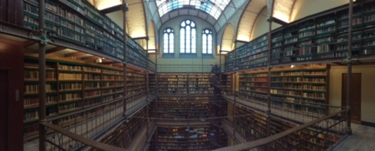 The library at Rijksmuseum Amsterdam
