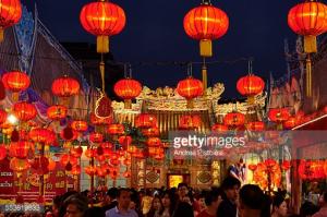 Thailand, Bangkok, Chinatown, Taoist temple, Chinese New Year Festival