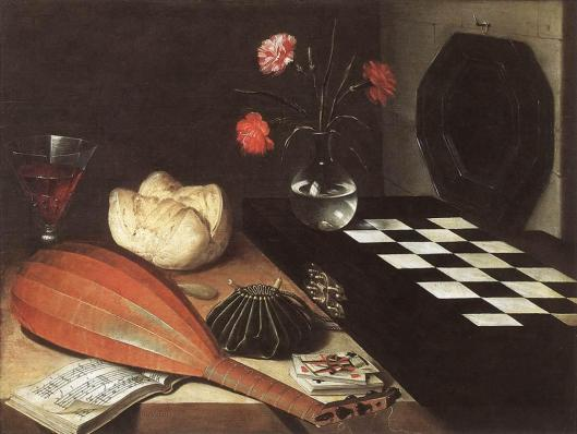 Lubin_Baugin_-_Still-life_with_Chessboard_(The_Five_Senses)_-_WGA01515