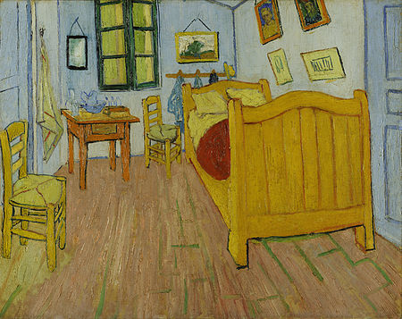 The Bedroom in Arles by Vincent van Gogh