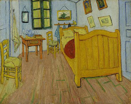 The Bedroom in Arles by Vincent van Gogh