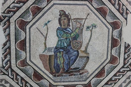 mosaic, roman